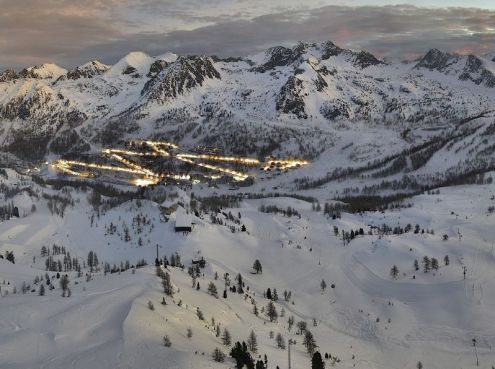 Isola 2000, France – Weather to ski – Today in the Alps, 29 November 2018