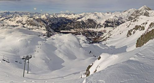 Montgenèvre, France – Weather to ski – Snow report, 29 November 2018