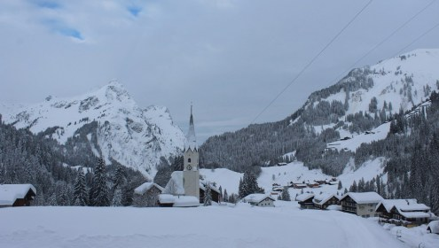 Schröcken, Austria – Weather to ski – Today in the Alps, 15 January 2019