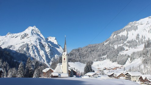 Schröcken, Austria – Weather to ski – Today in the Alps, 5 February 2019