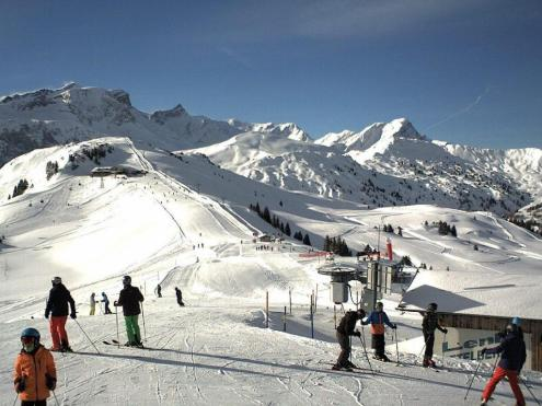 Lenk, Switzerland – Weather to ski – Today in the Alps, 12 February 2019