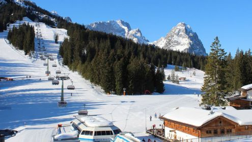 Garmisch, Germany – Weather to ski – Today in the Alps, 25 February 2019