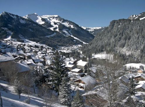 Châtel, France – Weather to ski – Today in the Alps, 12 March 2019