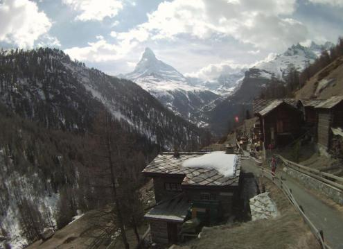 Zermatt, Switzerland – Weather to ski – Today in the Alps, 12 April 2019