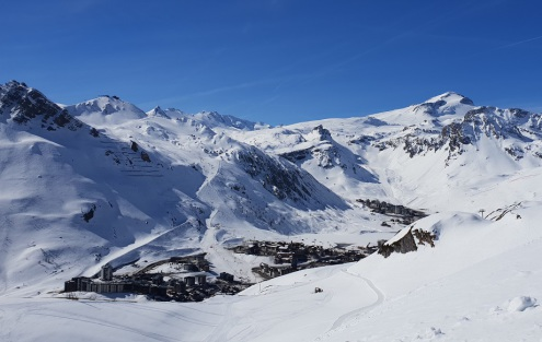 Tignes, France – Weather to ski – Today in the Alps, 17 April 2019