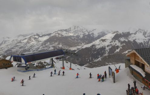Tignes, France – Weather to ski – Today in the Alps, 25 April 2019