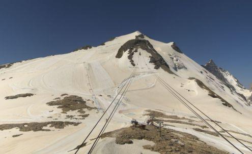 Grande Motte glacier, Tignes, France – Weather to ski – Today in the Alps, 27 June 2019