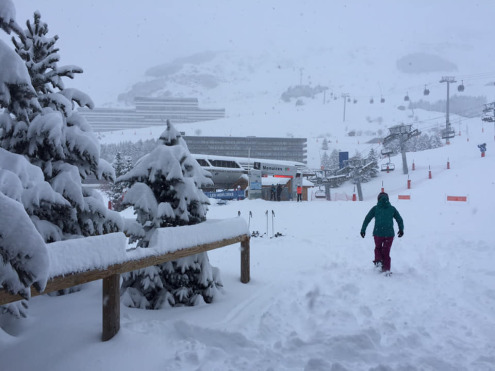 Significant snow Les Menuires, France on 10 December 2019 – Weather to ski – Who got the most snow in the Alps in 2018-19?