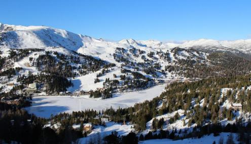 Good piste skiing in Turracherhöhe, Austria on 29 December 2019 – Weather to ski – Who got the most snow in the Alps in 2018-19?