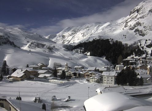 Fabulous snow conditions in Bivio, Switzerland on 31 January 2019 – Weather to ski – Who got the most snow in the Alps in 2018-19?