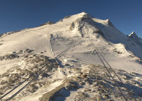Grande Motte glacier, Tignes on 3 October 2019 – Weather to ski – Snow news, 4 October 2019
