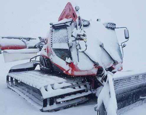 New snow on the Hintertux glacier – Weather to ski – Snow news, 4 October 2019