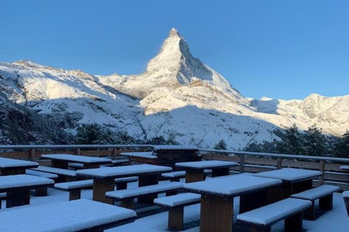 Fresh snow in Zermatt on 7 October 2019 – Weather to ski – Today in the Alps, 7 October 2019