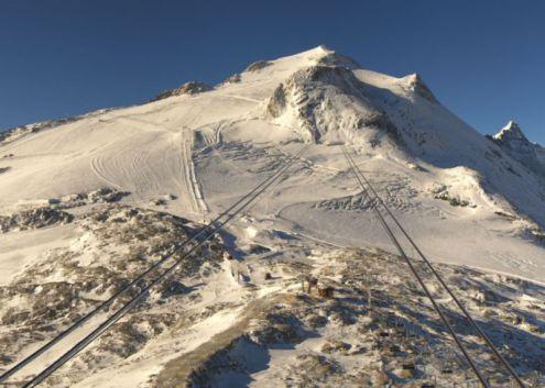 Grande Motte glacier, Tignes on 3 October 2019 – Weather to ski – Snow news, 4 October 2019