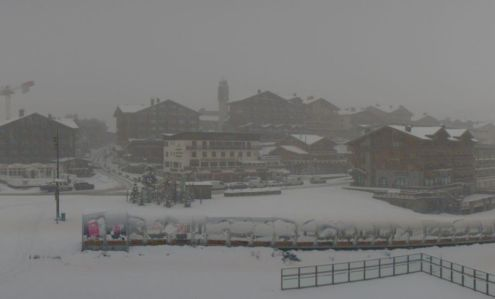 Tignes, France – Weather to ski – Today in the Alps, 4 November 2019
