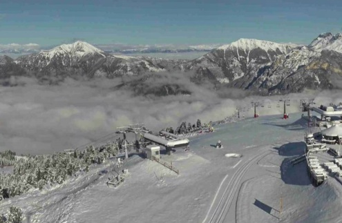 Snow conditions in Alpe Cermis, Italy on 7 November 2019 – Weather to ski – Today in the Alps, 7 November 2019
