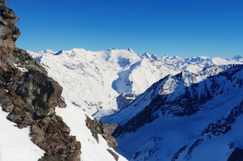 Aiguille Rouge, Les Arcs - Weather to ski - Is this the best piste in the Alps?
