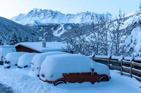 Big snowfalls in Vars, France, 15 November 2019 – Weather to ski – Today in the Alps, 15 November 2019