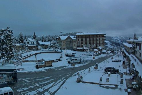 New snow in Auron, France, 22 November 2019 – Weather to ski – Today in the Alps, 22 November 2019