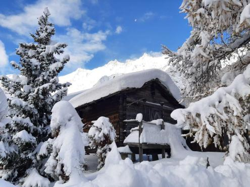 A lot of snow in Saas-Fee, Switzerland, 24 November 2019 – Weather to ski – Today in the Alps, 24 November 2019