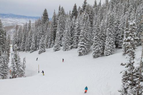 Lots of snow in Park City, Utah, USA, 3 December 2019 – Weather to ski – Snow report, 3 December 2019