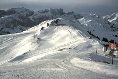 Adelboden, Switzerland – Weather to ski – Today in the Alps, 16 December 2019