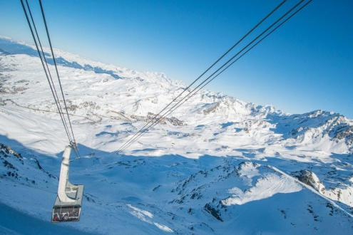 Val Thorens, France – Weather to ski – Today in the Alps, 9 January 2020