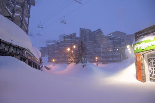 Val Thorens, France – Weather to ski – Today in the Alps, 29 January 2020