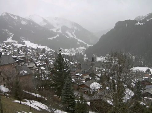 Châtel, France – Weather to ski – Today in the Alps, 2 February 2020