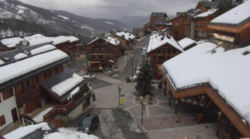 Méribel, France – Weather to ski – Today in the Alps, 3 February 2020