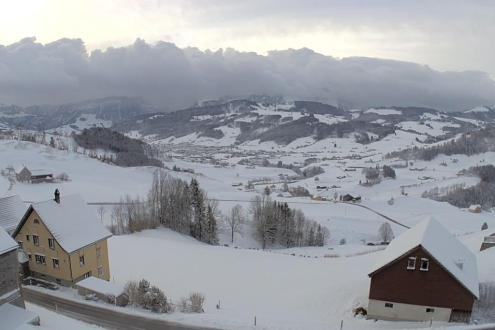 Appenzell, Switzerland – Weather to ski – Today in the Alps, 12 February 2020