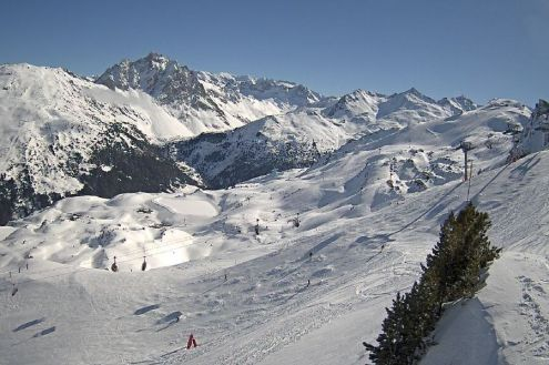 Méribel, France – Weather to ski – Today in the Alps, 14 February 2020