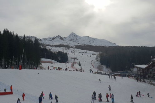 Les Arcs, France – Weather to ski – Today in the Alps, 16 February 2020