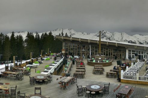 Arc 1800, France – Weather to ski – Today in the Alps, 17 February 2020