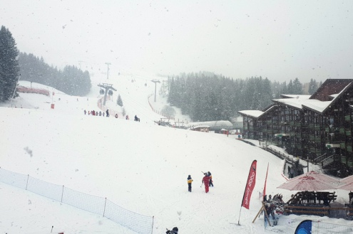 Arc 1800, France – Weather to ski – Today in the Alps, 19 February 2020