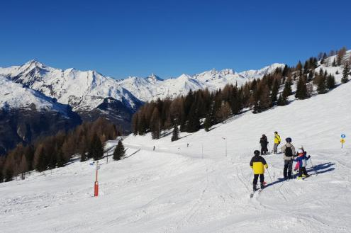 Les Arcs, France – Weather to ski – Today in the Alps, 21 February 2020