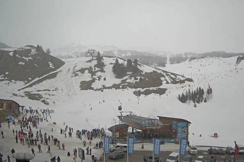 Grenoble, France – Weather to ski – Today in the Alps, 25 February 2020