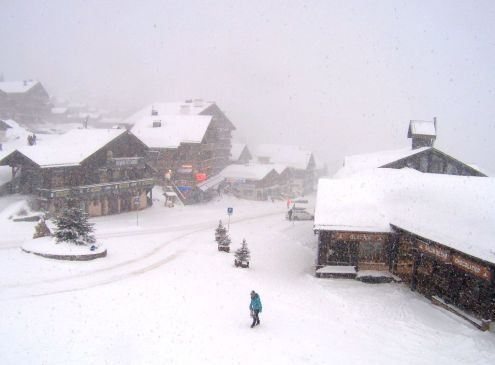 Les Saisies, France – Weather to ski – Today in the Alps, 26 February 2020