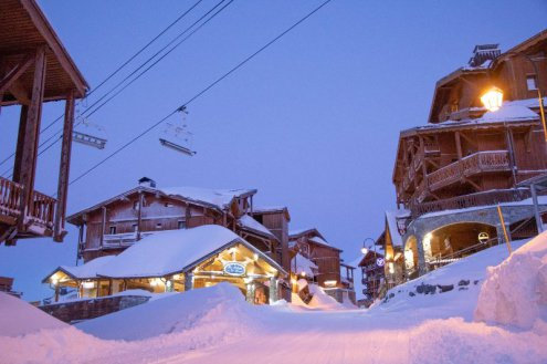 Val Thorens, France – Weather to ski – Today in the Alps, 28 February 2020