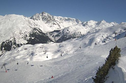 Méribel, France – Weather to ski – Today in the Alps, 11 March 2020