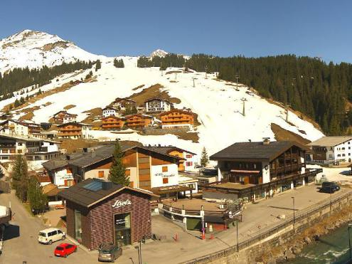 Lech, Austria – Weather to ski – Today in the Alps, 10 April 2020