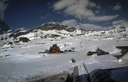 Cervinia, Italy – Weather to ski – Today in the Alps, 24 April 2020