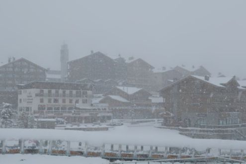 Tignes, France – Weather to ski – Today in the Alps, 1 May 2020
