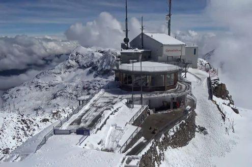 Corvatsch, St Moritz, Switzerland – Weather to ski – Today in the Alps, 9 June 2020