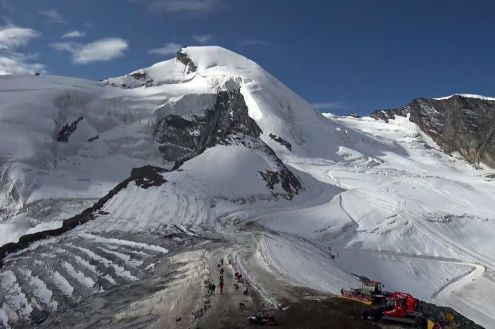 Saas-Fee, Switzerland – Weather to ski – Today in the Alps, 16 September 2020