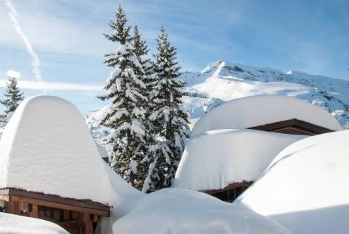 Avoriaz, France - Weather to ski - Complete guide to snowfall patterns in the French Alps