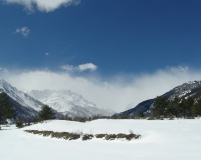 Col du Lauteret, France - Complete guide to snowfall patterns in the French Alps