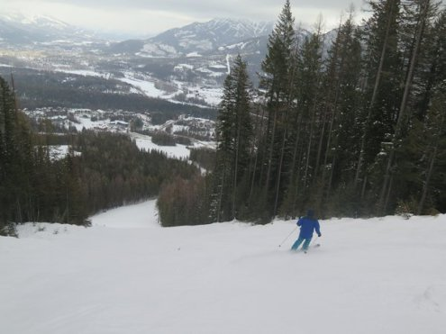 Fernie, British Columbia, Canada – Weather to ski – Who got the most snow in North America in 2019-20?