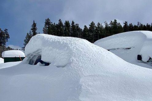Breckenridge, Colorado, USA – Weather to ski – Who got the most snow in North America in 2019-20?