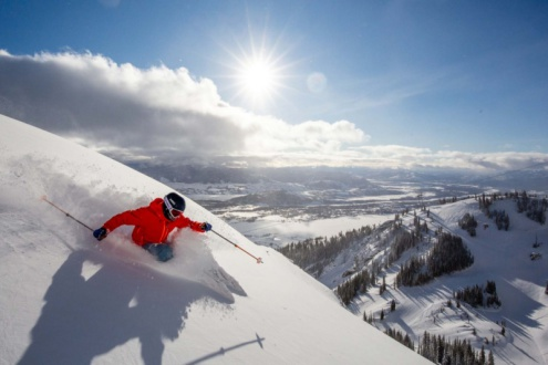 Jackson Hole, Wyoming, USA – Weather to ski – Who got the most snow in North America in 2019-20?